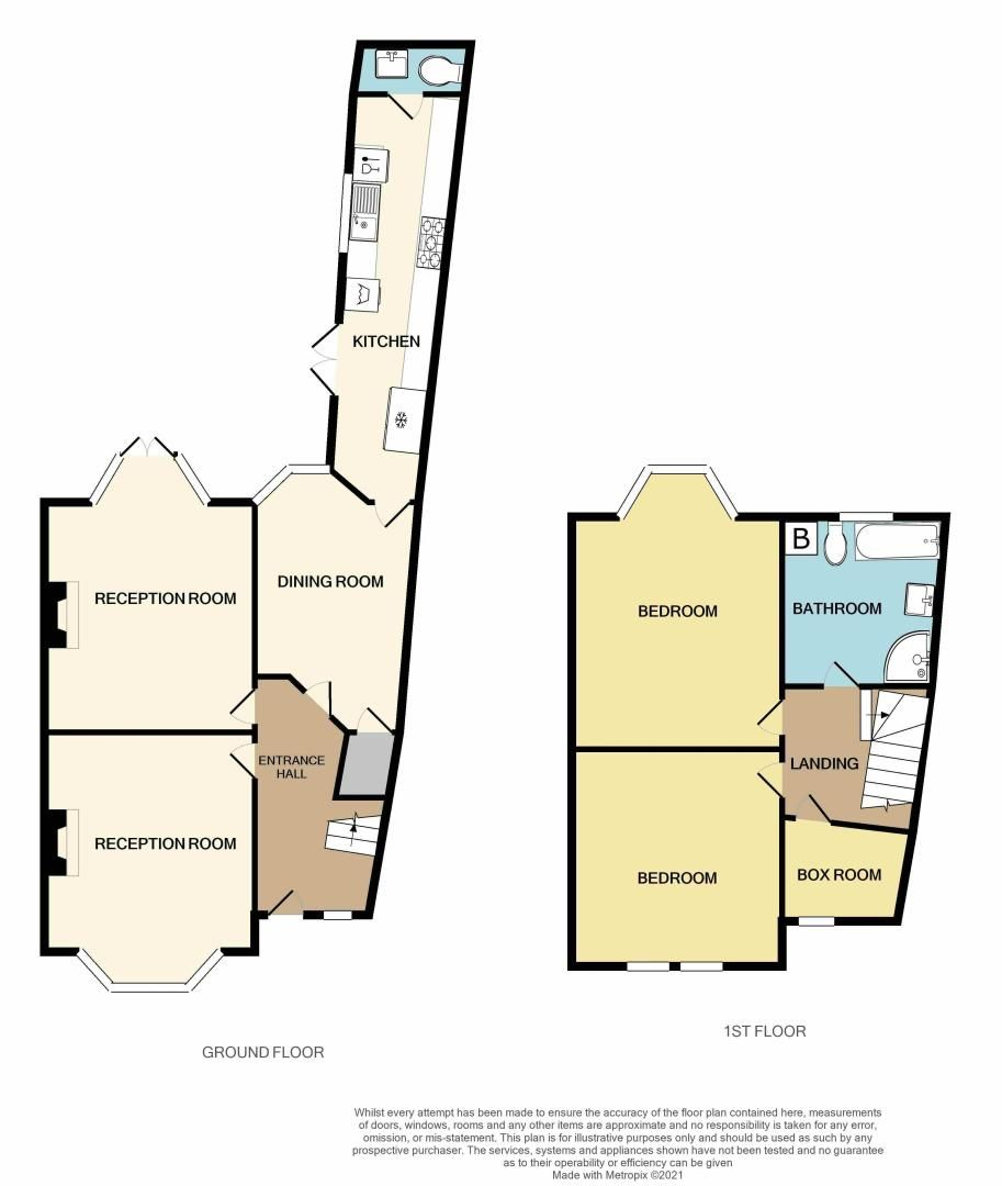 3 bed house for sale in Long Lane - Property Floorplan