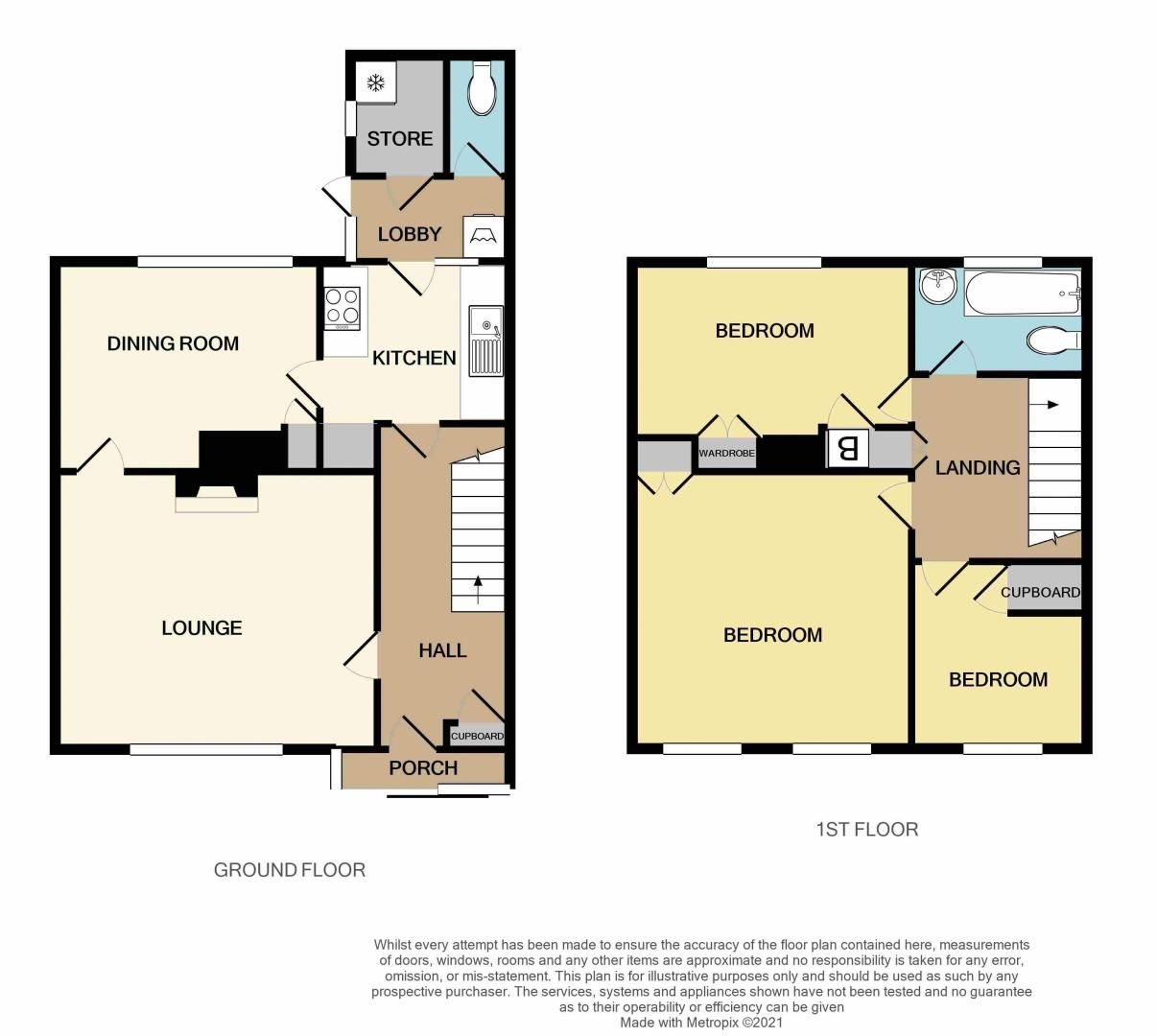 3 bed house for sale in Fleming Road - Property Floorplan