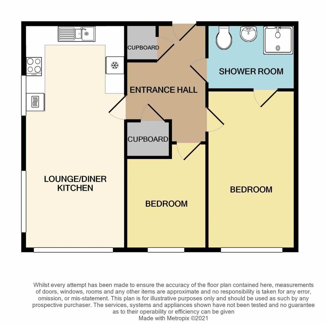 2 bed  for sale in Queensridge Court, Queensway - Property Floorplan