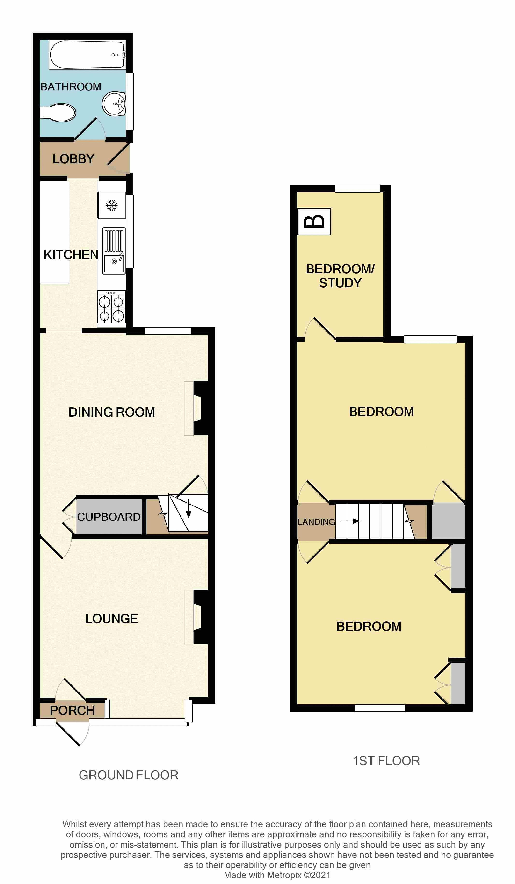 3 bed house for sale in Weston Road - Property Floorplan