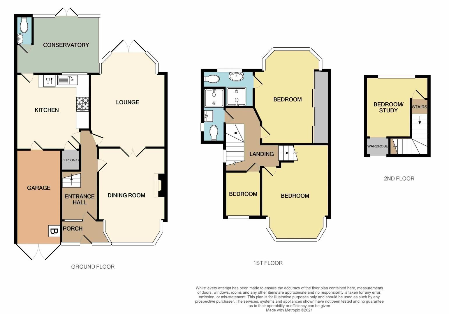 4 bed house for sale in Forest Road - Property Floorplan