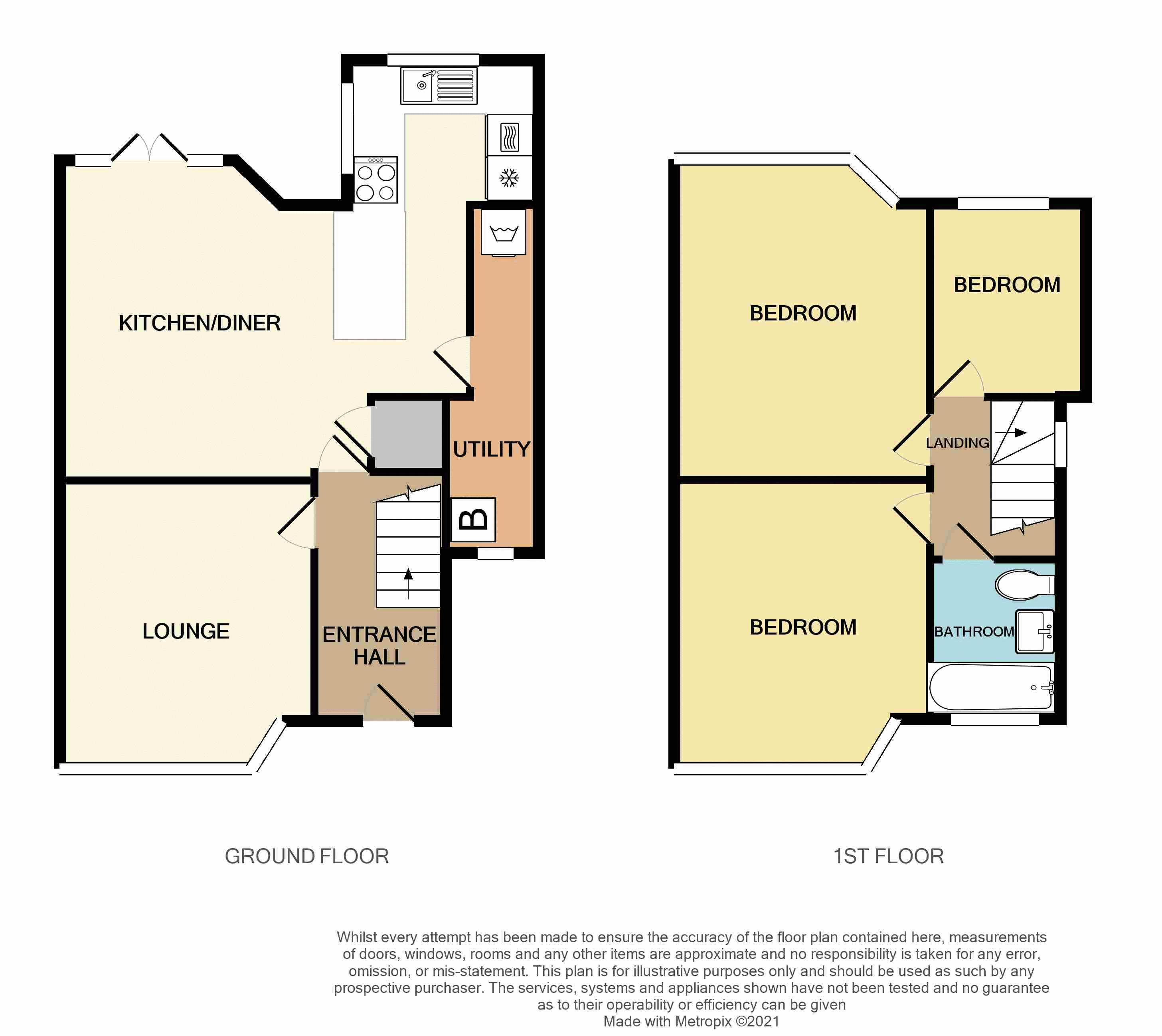 3 bed house for sale in Castle Road West - Property Floorplan