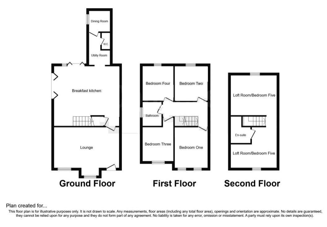 5 bed house for sale in Maple Road - Property Floorplan