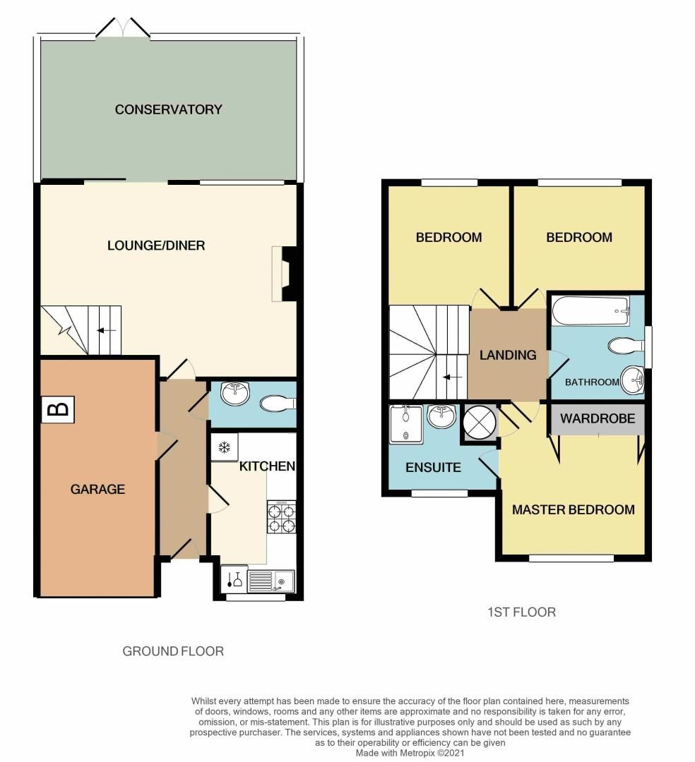 3 bed house for sale in Clay Lane - Property Floorplan
