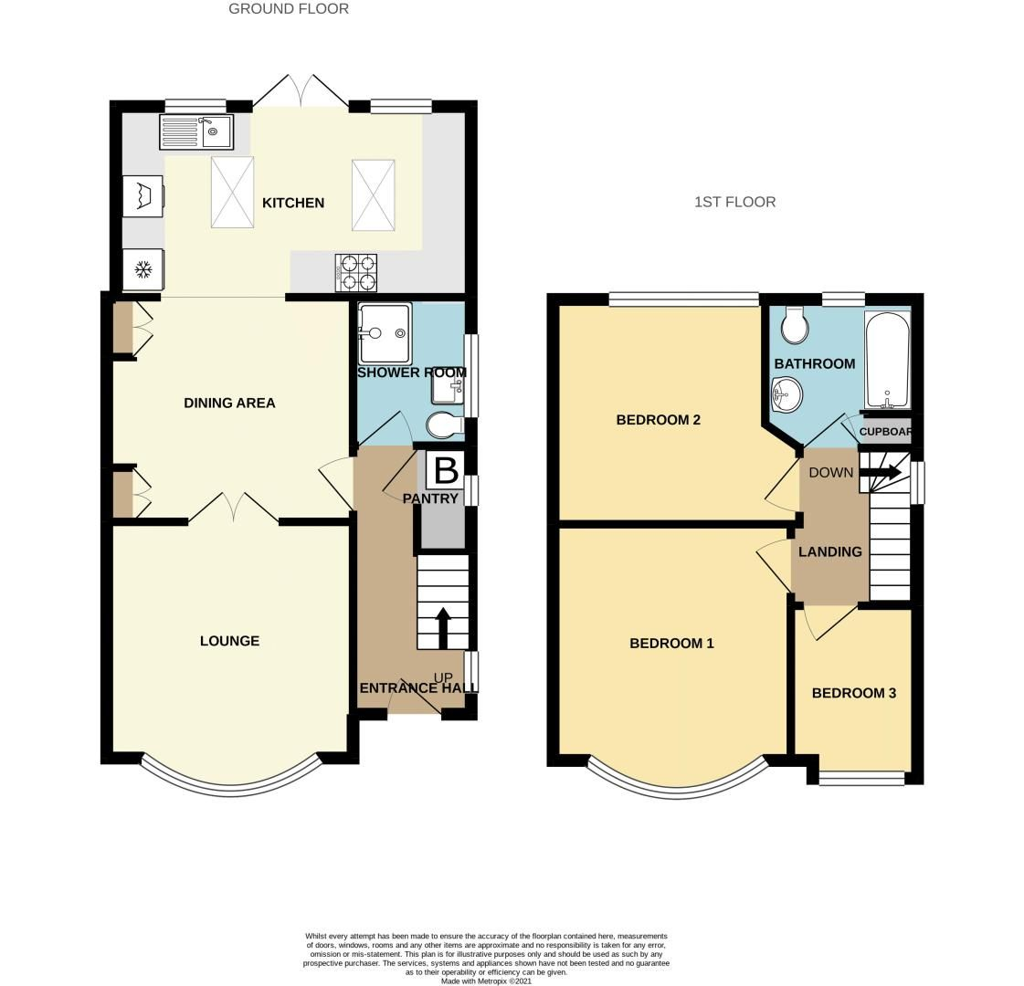 3 bed house to rent in Trejon Road - Property Floorplan
