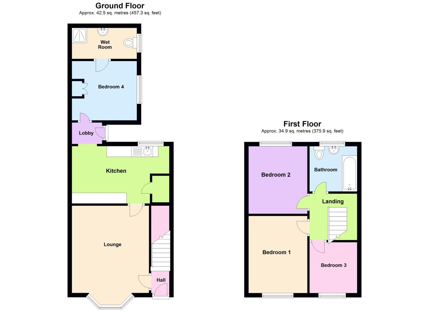 4 bed house for sale in St Michaels Crescent - Property Floorplan