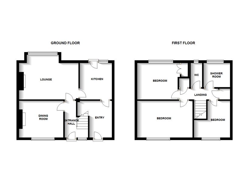 3 bed house to rent in Malvern Road - Property Floorplan