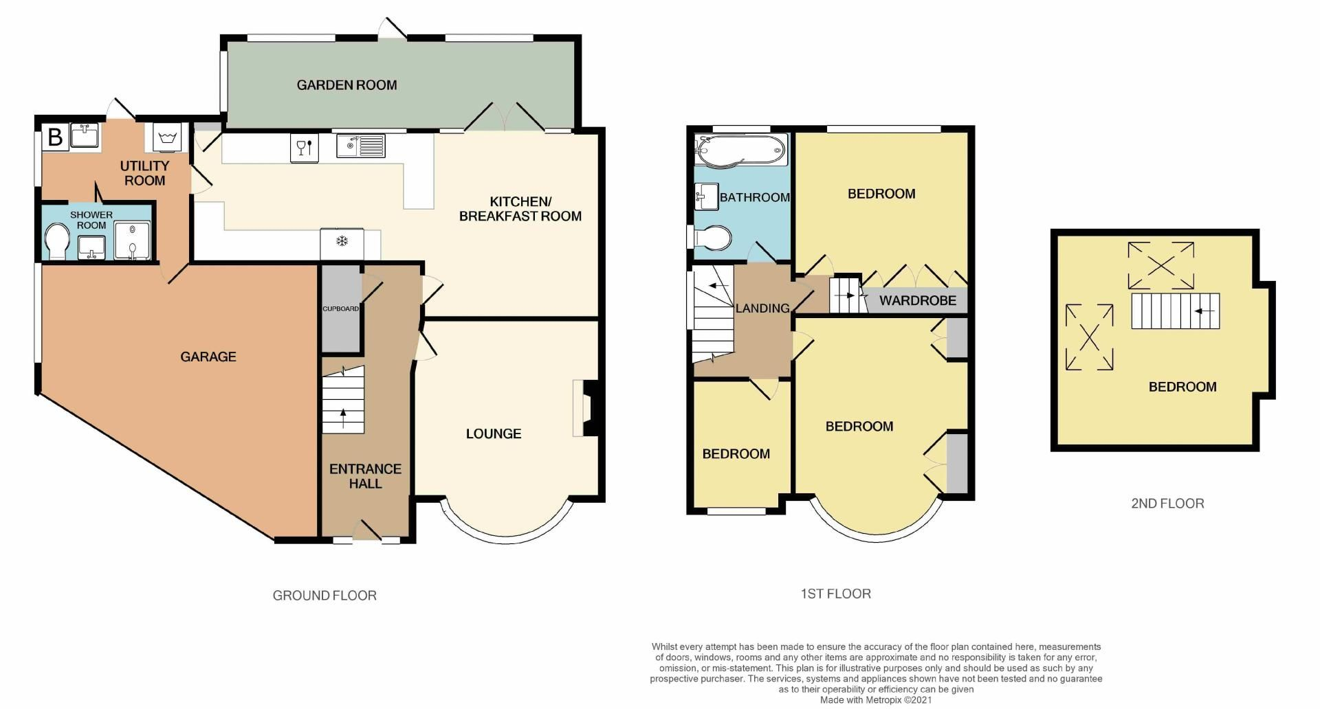 4 bed house for sale in Edenhall Road - Property Floorplan