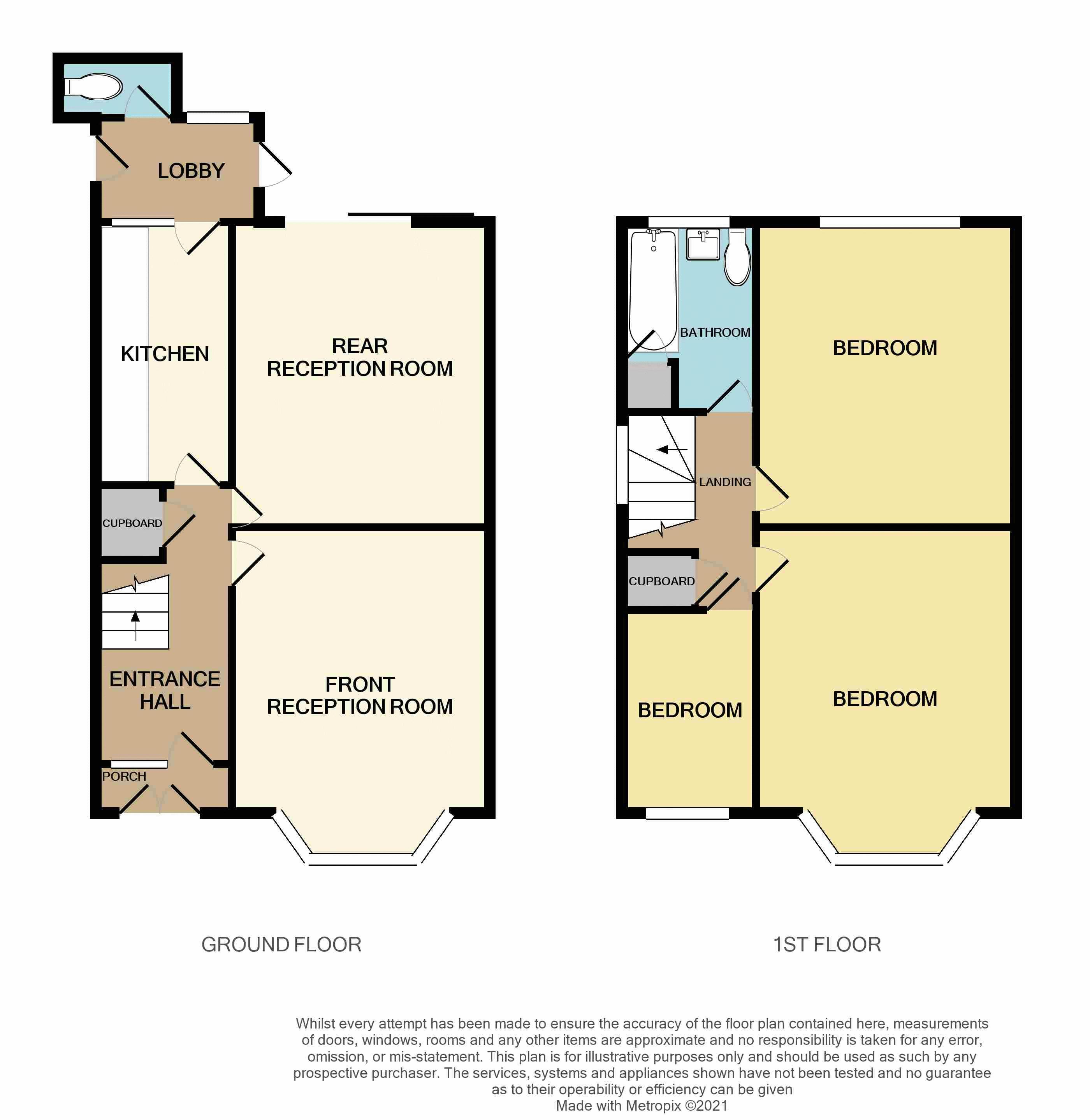 3 bed house for sale in Beechwood Road - Property Floorplan