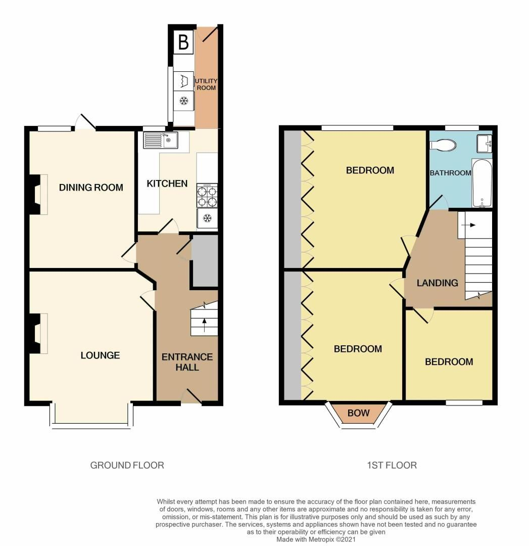 3 bed house for sale in Upper St. Marys Road - Property Floorplan