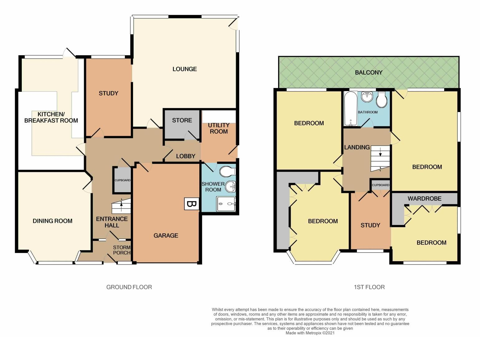 4 bed house for sale in Lavinia Road - Property Floorplan