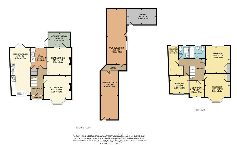 5 bed house for sale in Hagley Road West - Property Floorplan