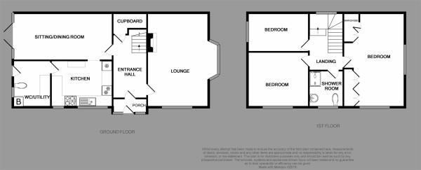 3 bed house for sale in Merrivale Road - Property Floorplan