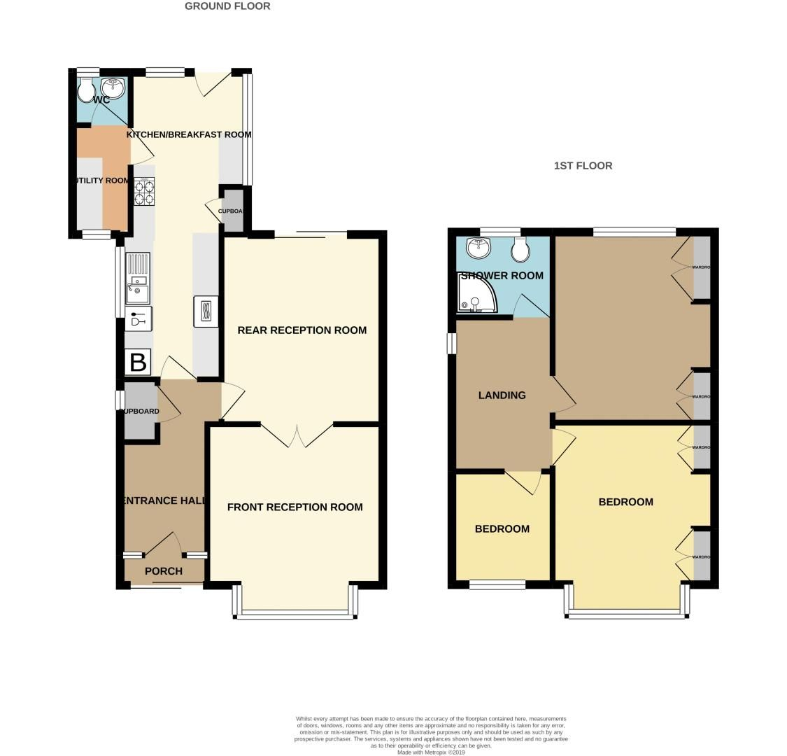 3 bed house for sale in Clive Road - Property Floorplan