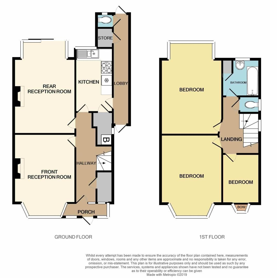 3 bed house for sale in Hagley Road West - Property Floorplan