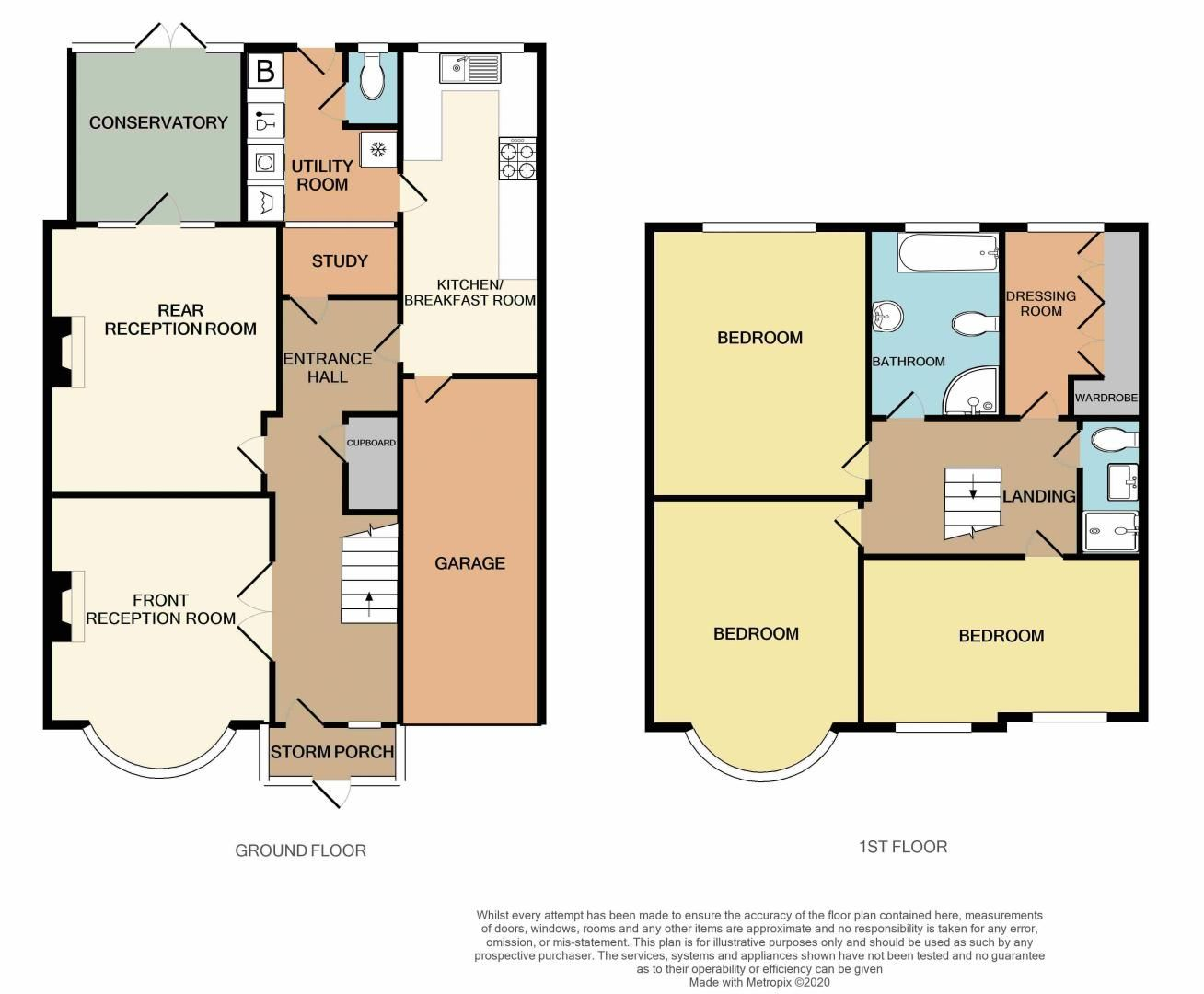 4 bed house for sale in Brandhall Road - Property Floorplan