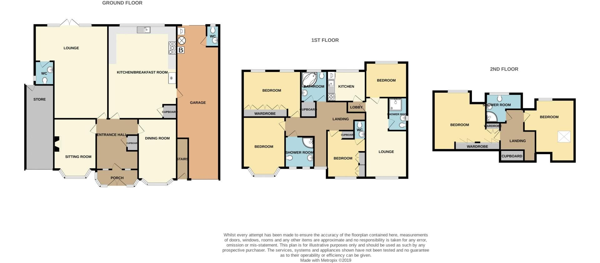 6 bed house for sale in Croftdown Road - Property Floorplan