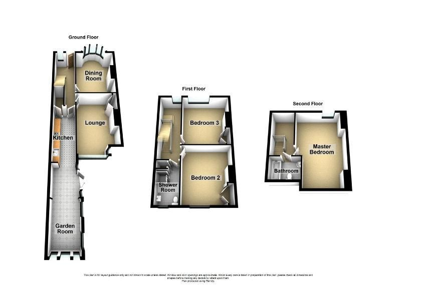 3 bed house for sale in High Street - Property Floorplan