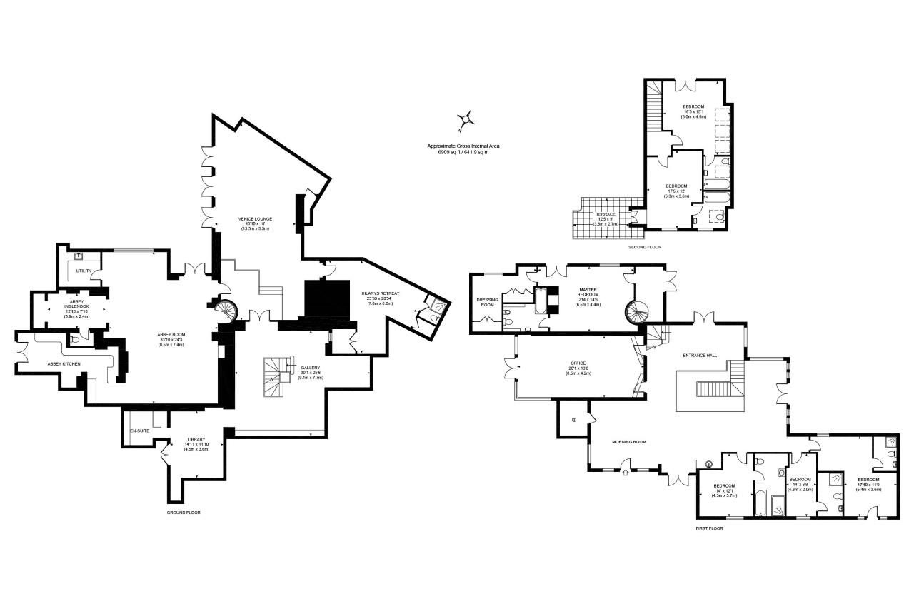 7 bed detached for sale in Wraysbury - Property Floorplan