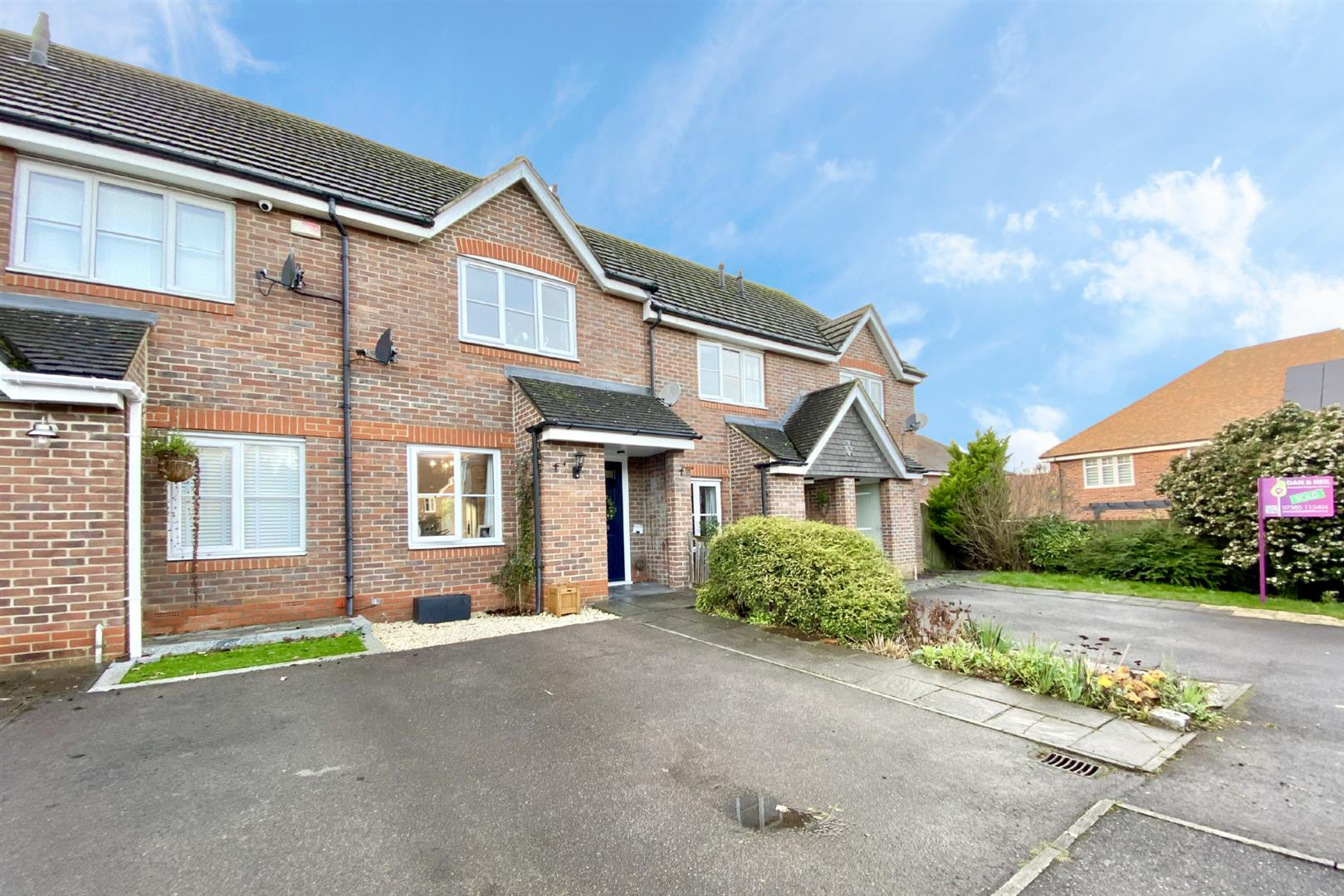 2 bed terraced for sale in Three Mile Cross 1