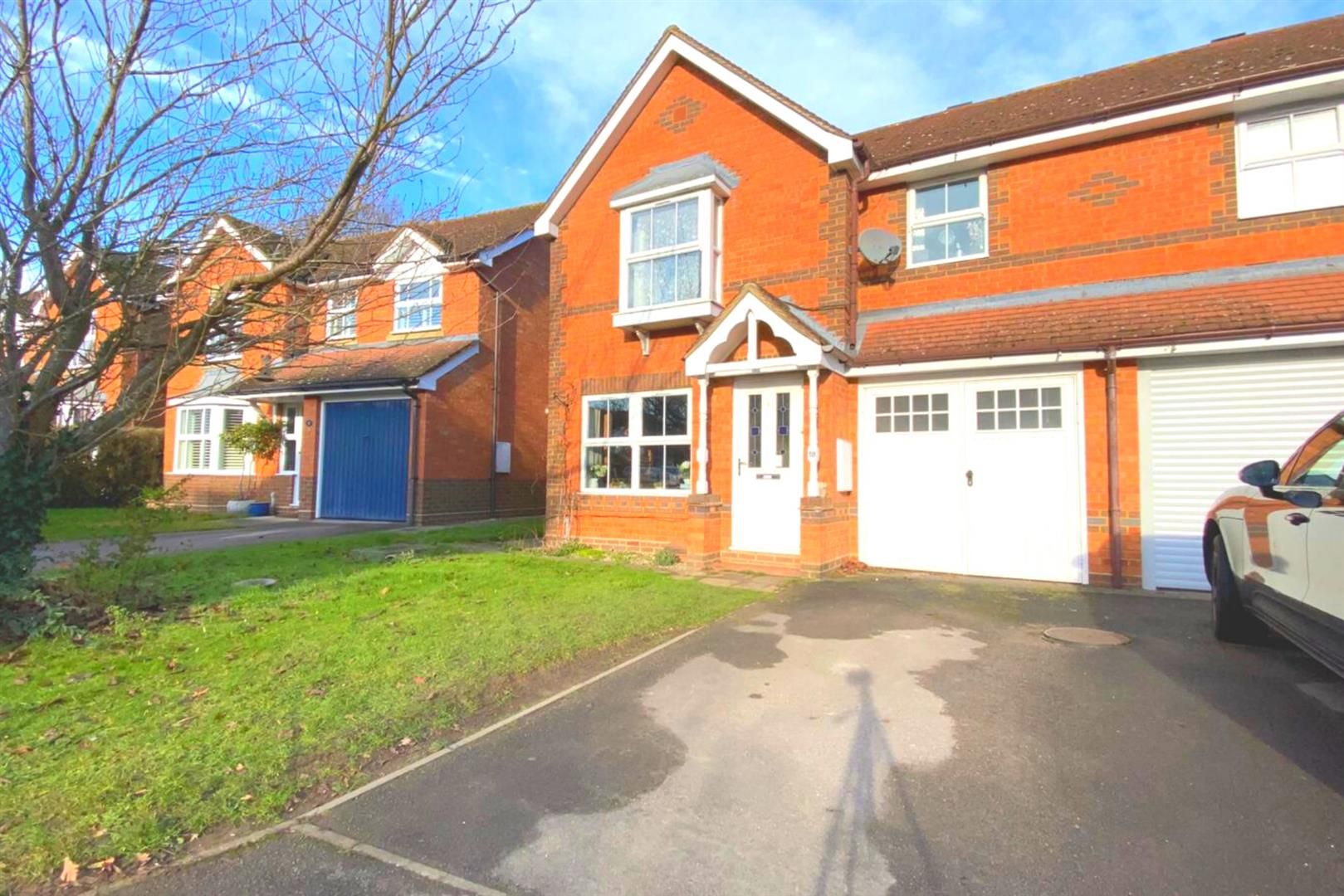 3 bed semi-detached for sale in Woodley, RG5