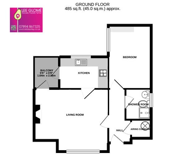 1 bed house for sale - Property Floorplan