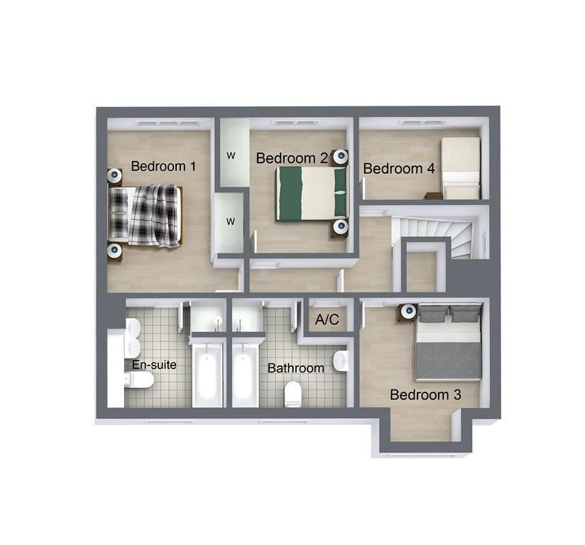 4 bed house for sale in Woolhampton - Property Floorplan