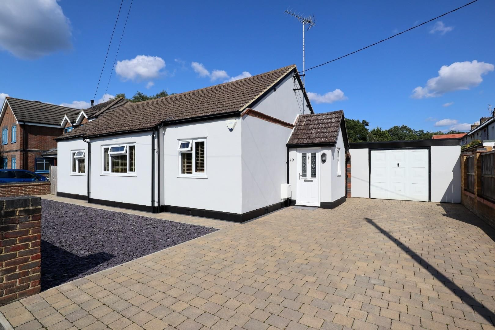 3 bed detached bungalow for sale in Mytchett  - Property Image 1